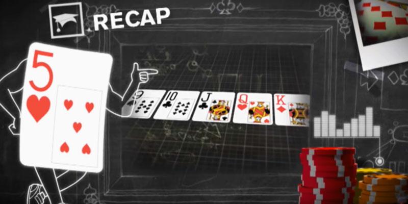 ลองใช้มือของคุณเพื่อเล่นเกมที่ Stripped Deck Poker
